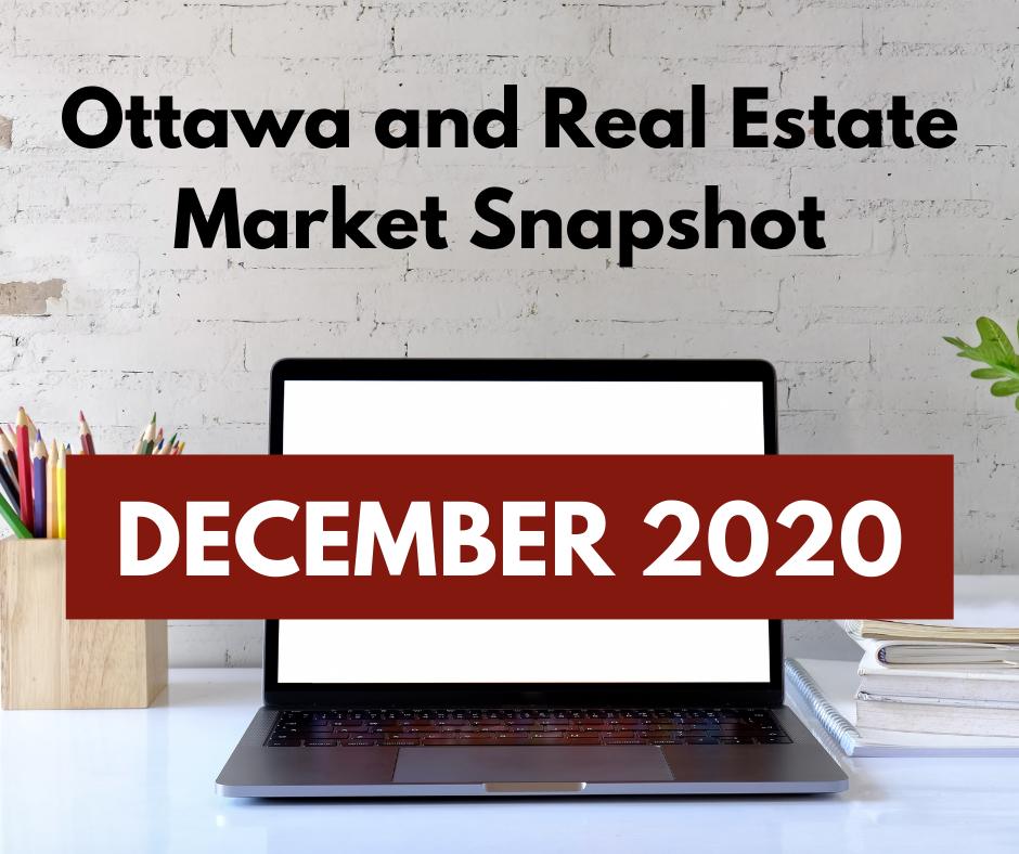 Ottawa and Real Estate Market Snapshot December 2020 4