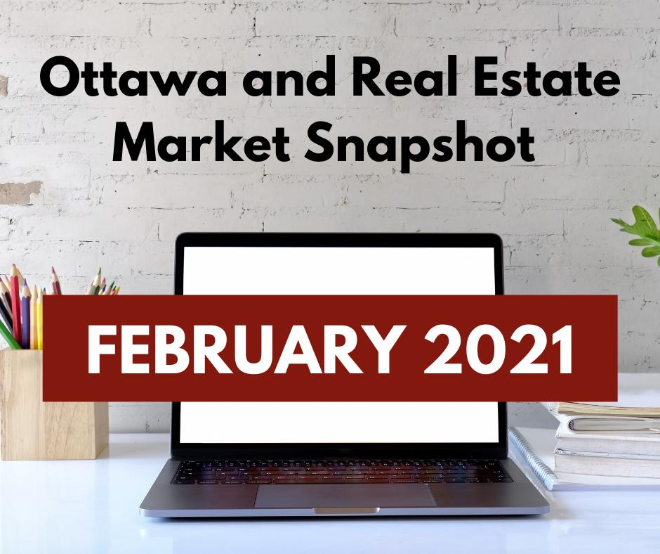 Ottawa and Real Estate Market Snapshot February 2021 2